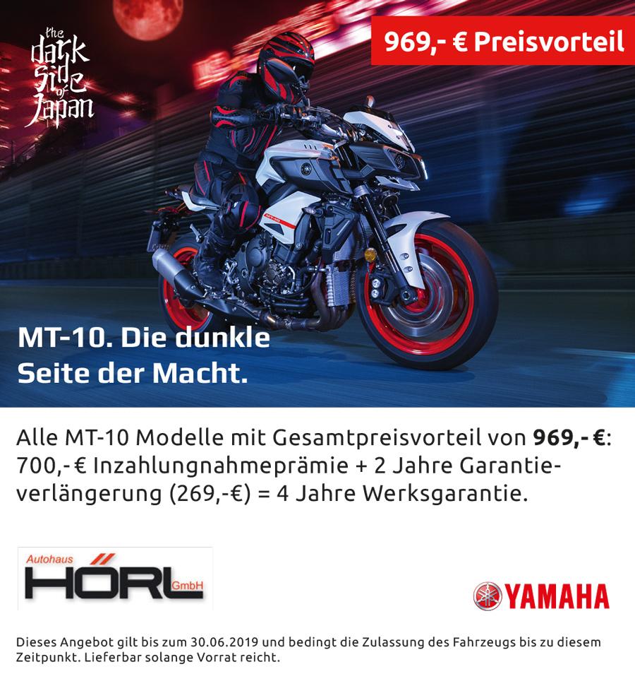 Anzeige Yamaha MT-10 mit Preisvorteil