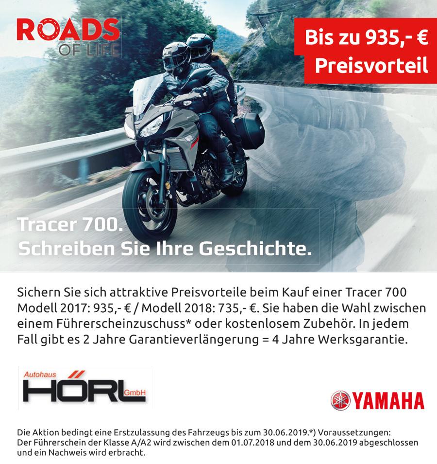 Anzeige Yamaha Tracer 700 mit Preisvorteil